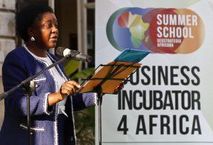 Il ministro  Cecile Kyenge a Verona per inaugurare l'African summer school