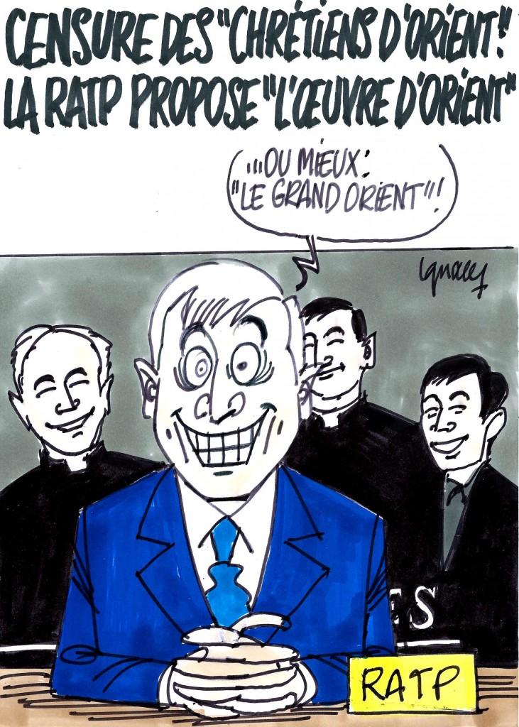 Ignace - La RATP et les chrétiens d'Orient