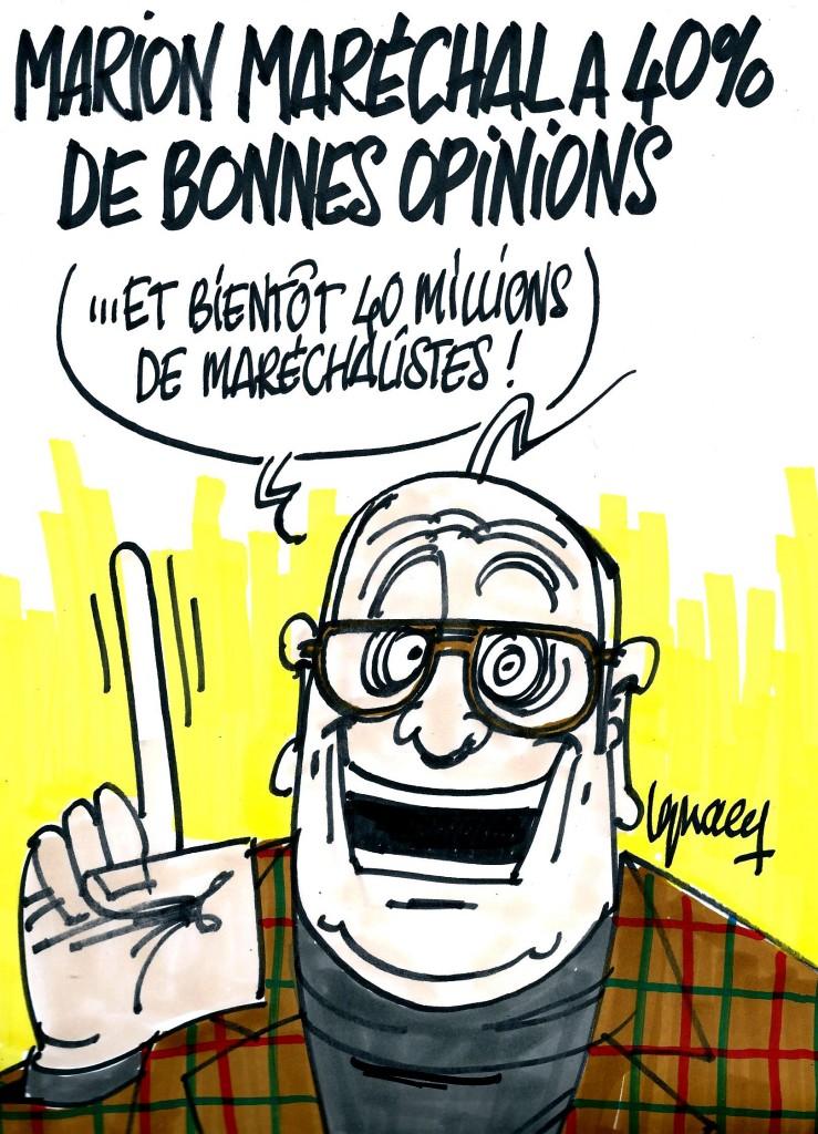 Ignace - Marion Maréchal a 40% de bonnes opinions