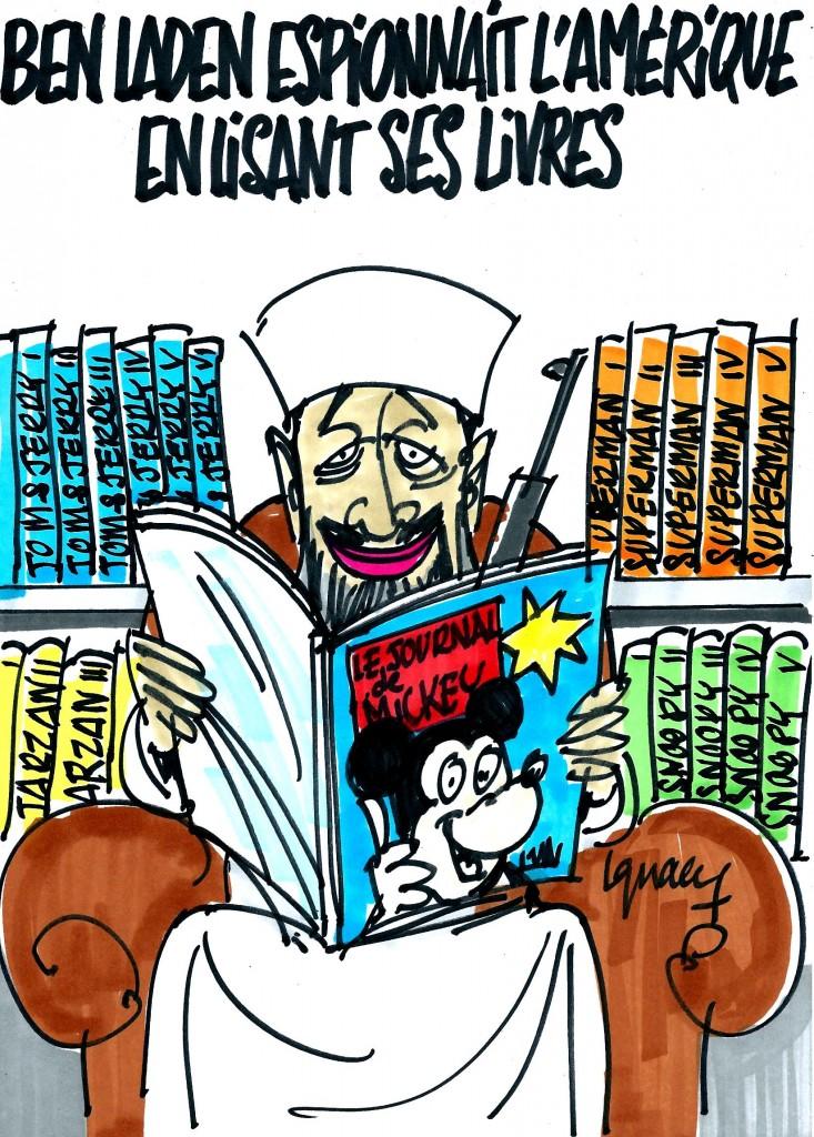 Ignace - Ben Laden espionnait l'Amérique en lisant ses livres