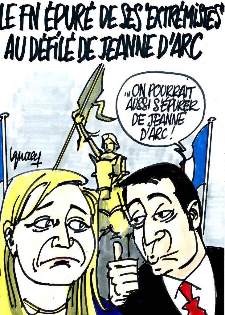 Ignace - Défilé de Jeanne d'Arc du FN