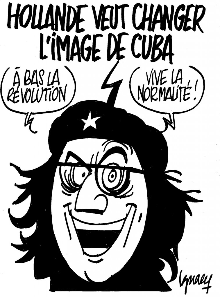 Ignace - Hollande veut changer l'image de Cuba
