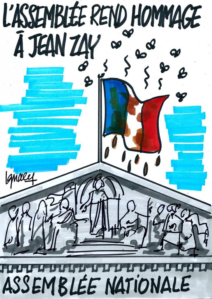 Ignace - Hommage de l'Assemblée à Jean Zay