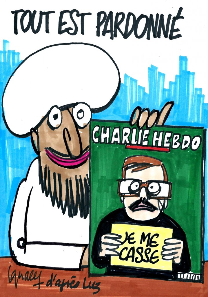 Ignace - Luz va quitter Charlie Hebdo
