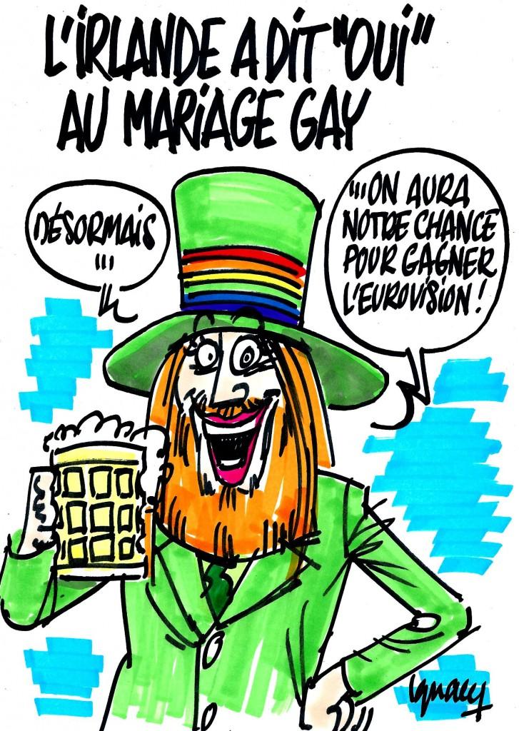 "Ignace - L'Irlande à dit ""oui"" au mariage gay"