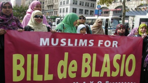 Muslims for Bill DeBlasio