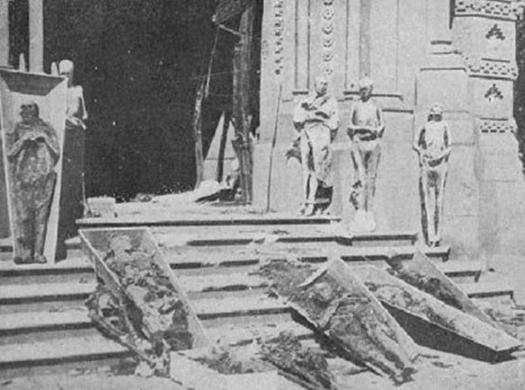guerre d'Espagne profanations