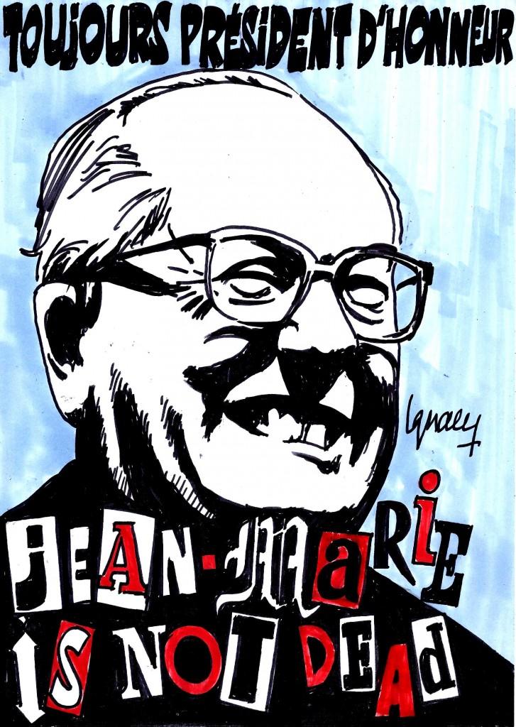 Ignace - Jean-Marie Le Pen toujours Président d'honneur