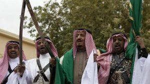 roi arabie saoudite sabre
