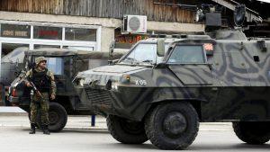 MACEDOINE police militaire