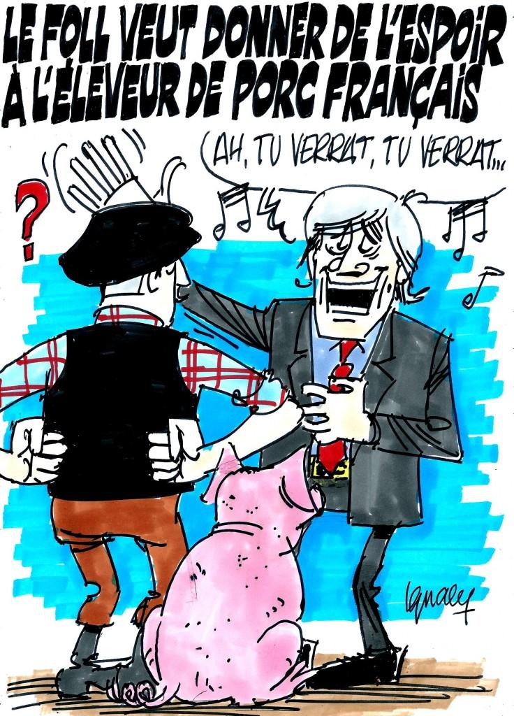 Ignace - Le Foll et le prix de la viande de porc