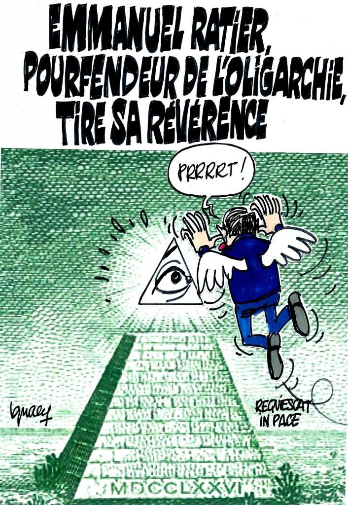 Ignace - Emmanuel Ratier tire sa révérence