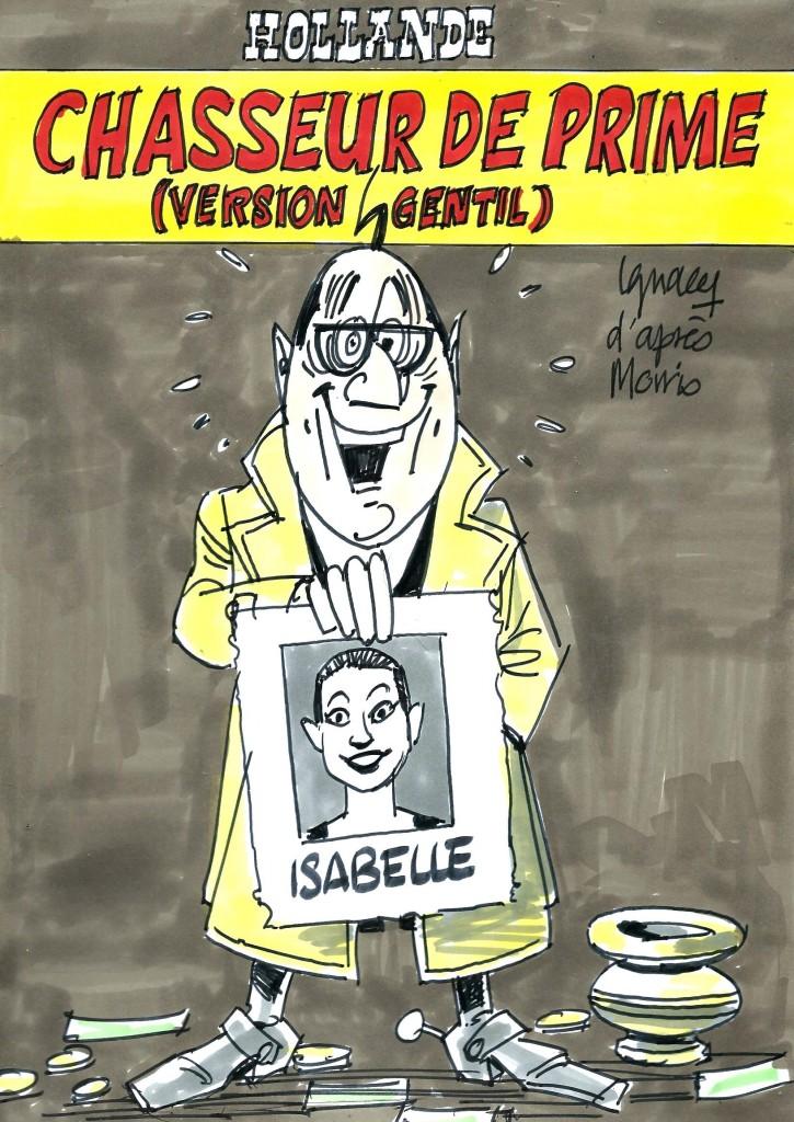 Ignace - Hollande, chasseur de Prime