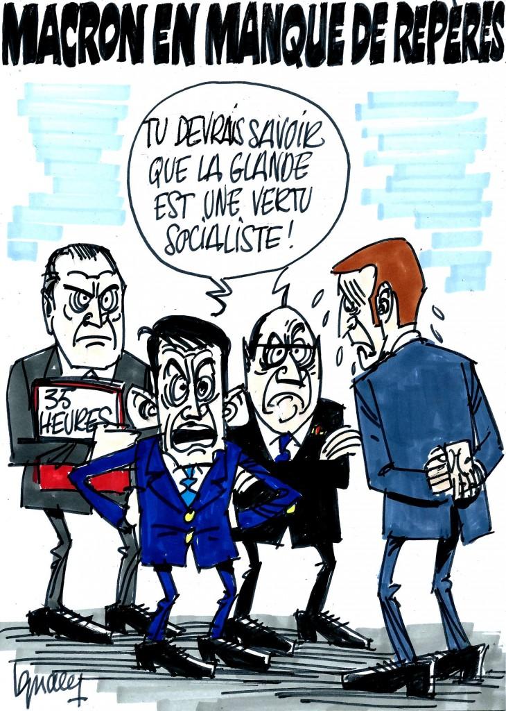 Ignace - Macron et les 35 heures