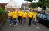 A Dortmund, des patrouilles de «Protection urbaine» sont organisées par les militants nationalistes