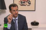 Interview intégrale de Bachar-el-Assad aux médias russes – vidéo en français