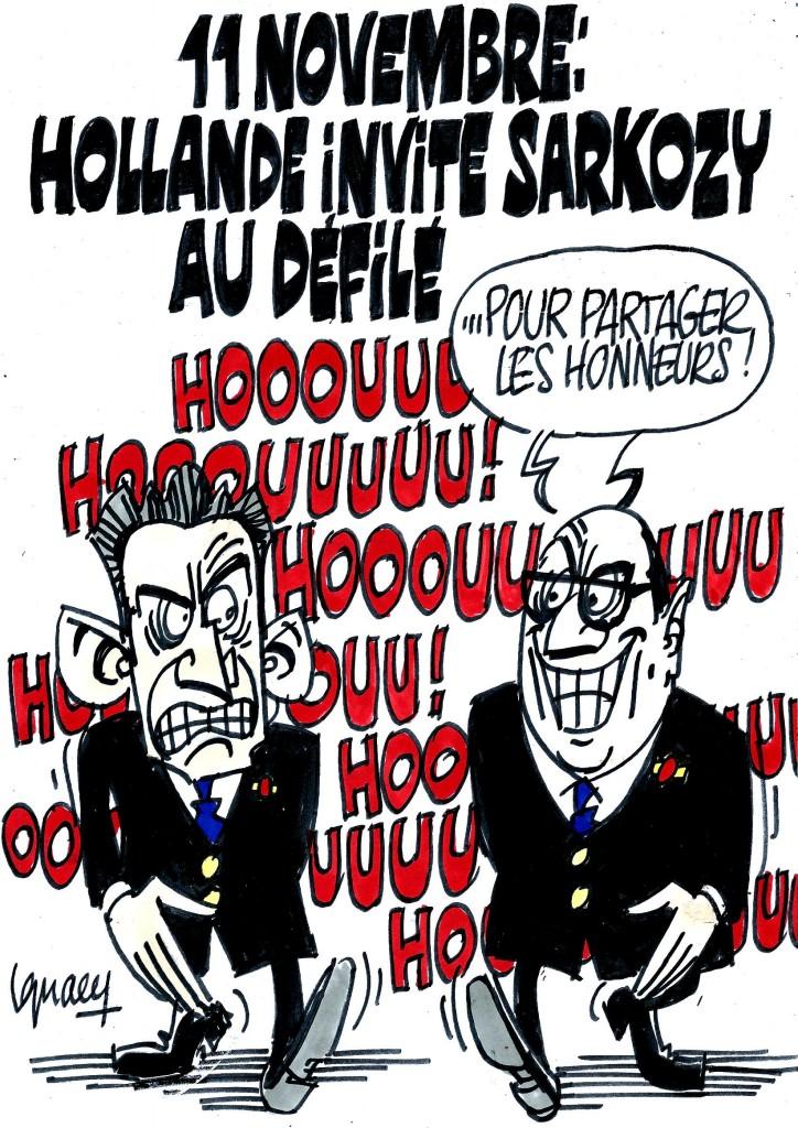 Ignace - Hollande invite Sarkozy au défilé