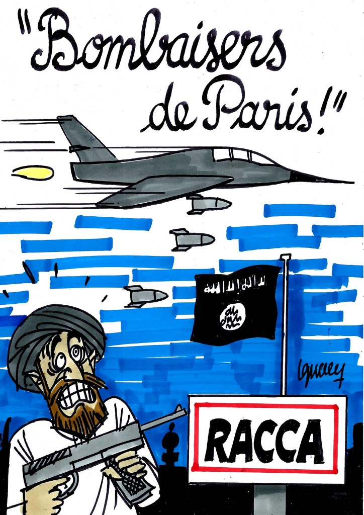 Ignace - Carte postale pour Daech