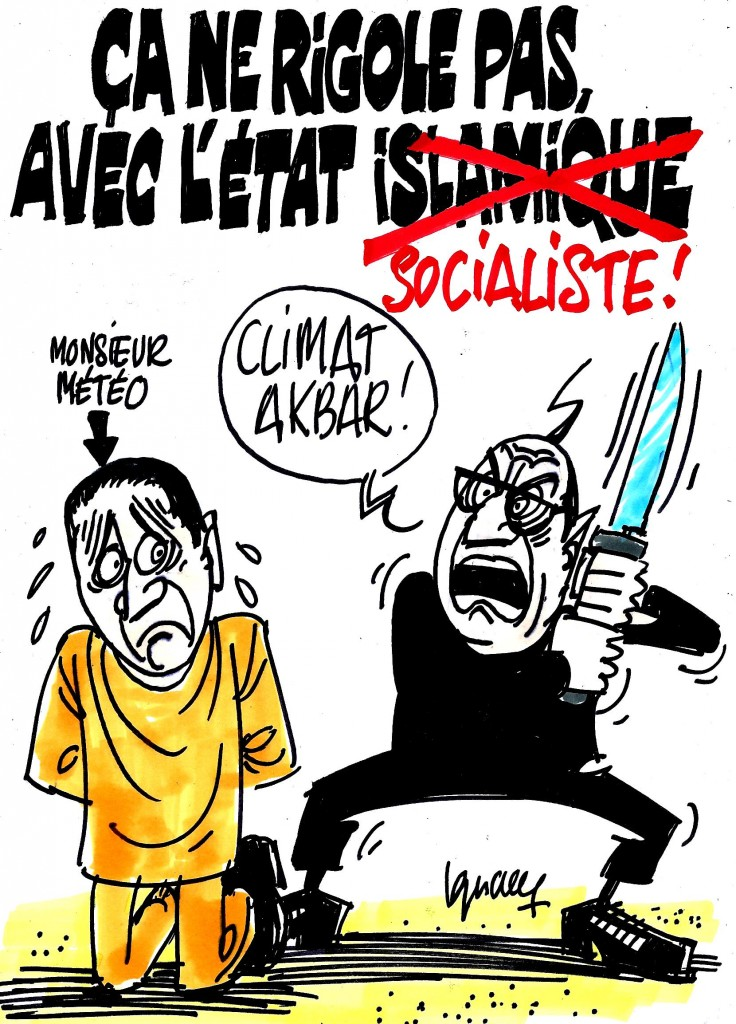 Ignace - On ne rigole pas avec le réchauffement climatique !