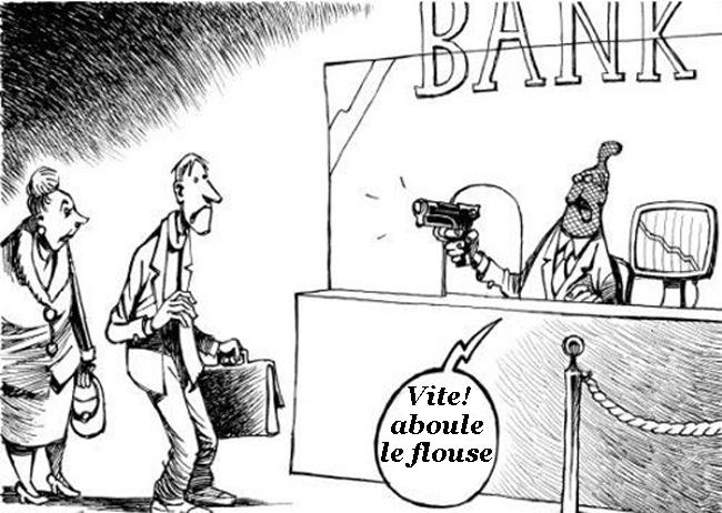 4 banques italiennes en faillite, les épargnants échappent de justesse à la ponction de leurs comptes …  Explications