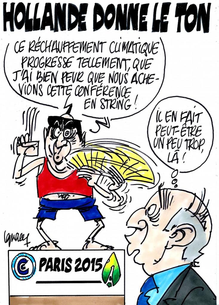 Ignace - COP21 : Hollande donne le ton