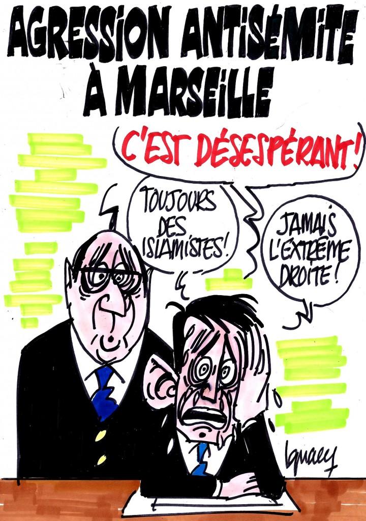 Ignace - Agression antisémite à Marseille
