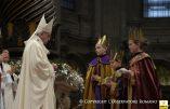 """Les trois rois mages du Vatican : deux garçons et une fille, une version """"gender"""""""