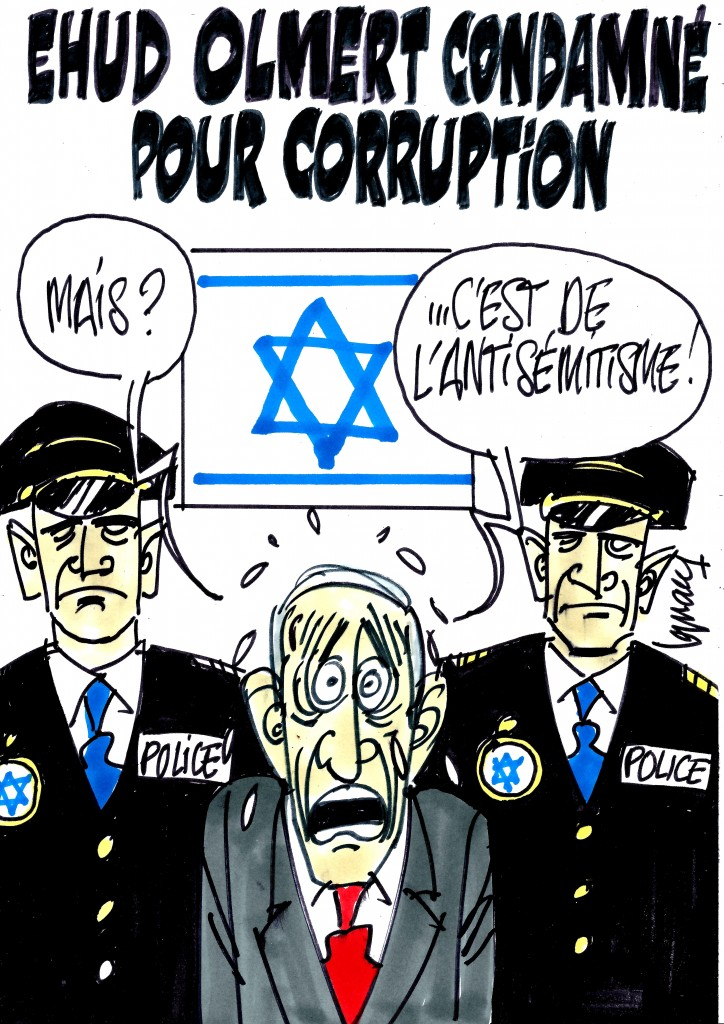 Ignace - Ehud Olmert condamné pour corruption