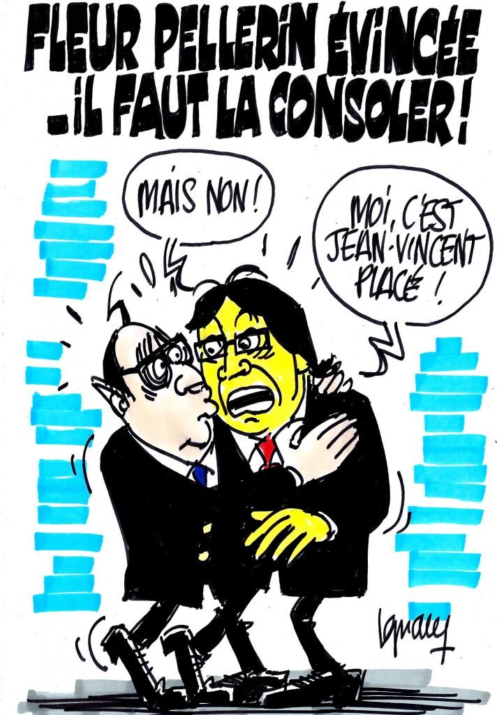 Ignace - Fleur Pellerin évincée, il faut la consoler !