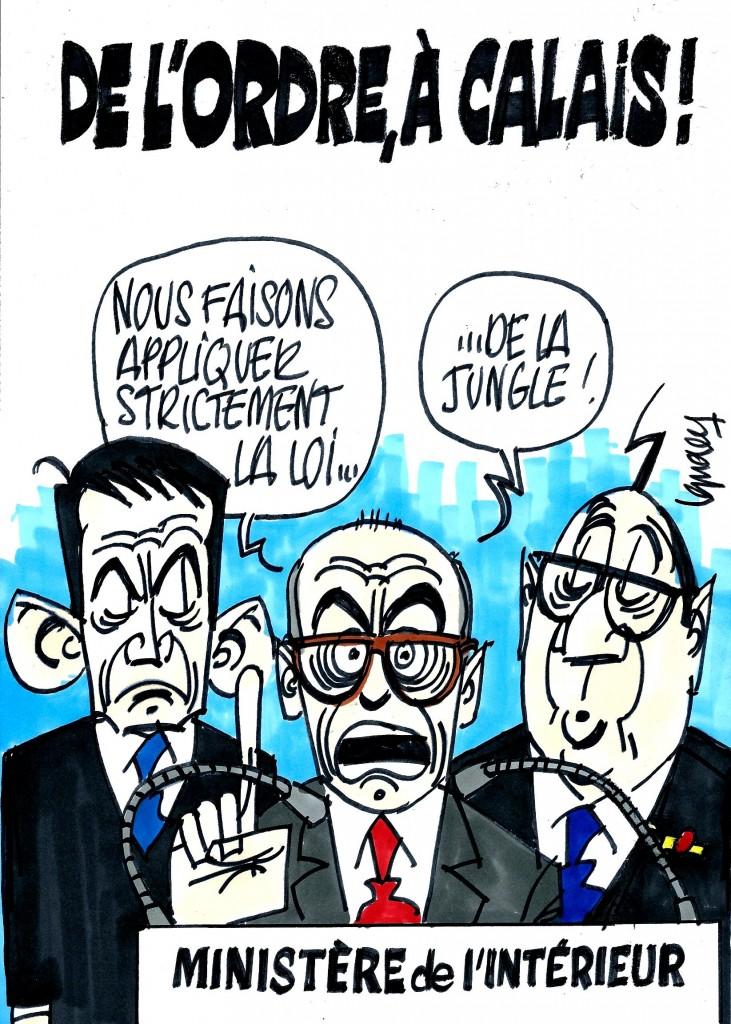 Ignace - De l'ordre à Calais !