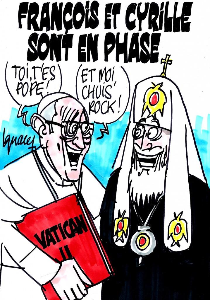 Ignace - François et Cyrille sont en phase