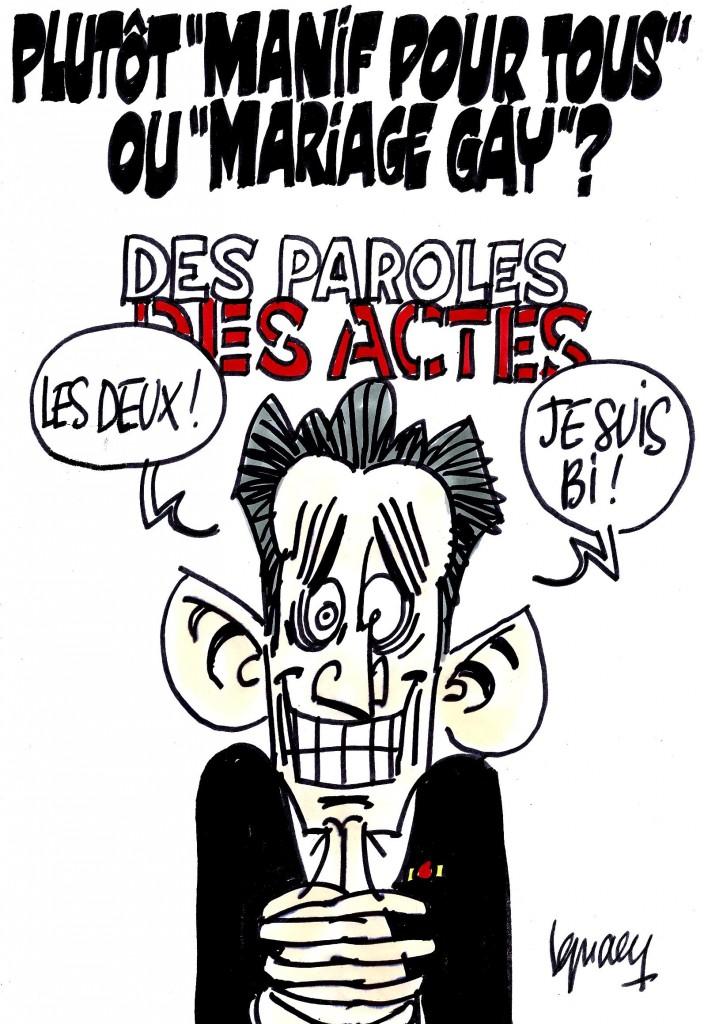 """Ignace - Sarkozy à """"Des paroles et des actes"""""""