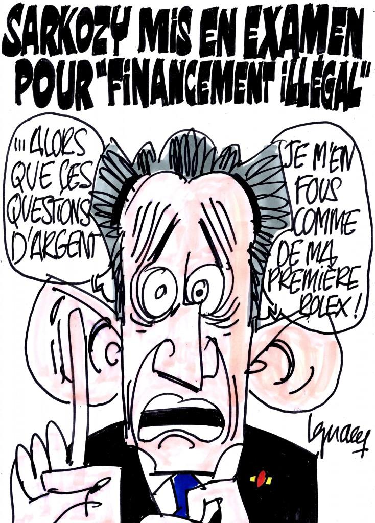 Ignace - Sarkozy mis en examen