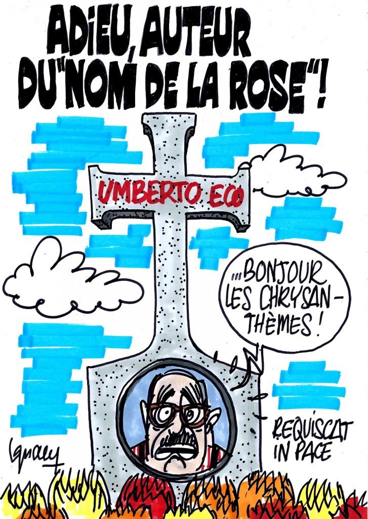 Ignace - Mort d'Umberto Eco