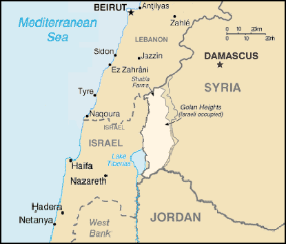 Nétanyahou dévoile la raison de la guerre terroriste contre la Syrie : Israël ne rendra jamais les hauteurs du Golan volées à la Syrie en 1967