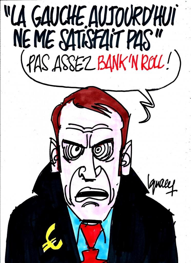 Ignace - La gauche actuelle déçoit Macron
