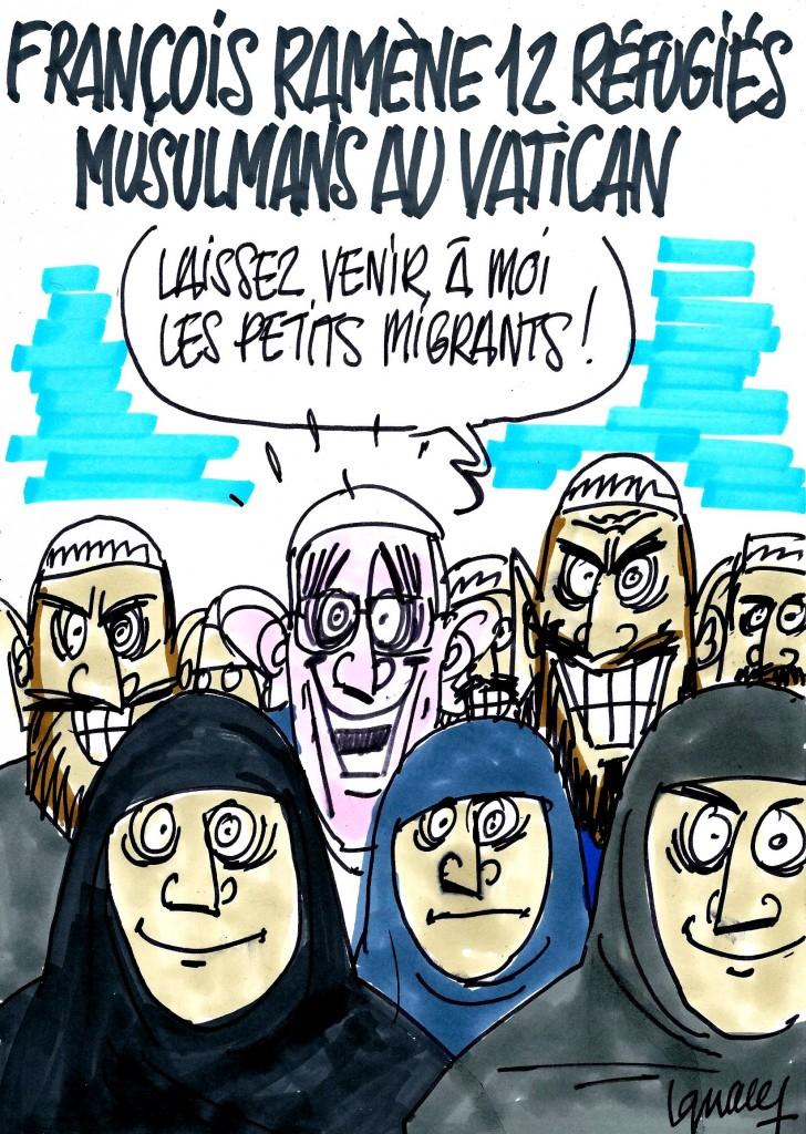 Ignace - François ramène 12 musulmans au Vatican