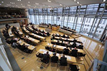 Le Parlement de Saxe-Anhalt en 2012