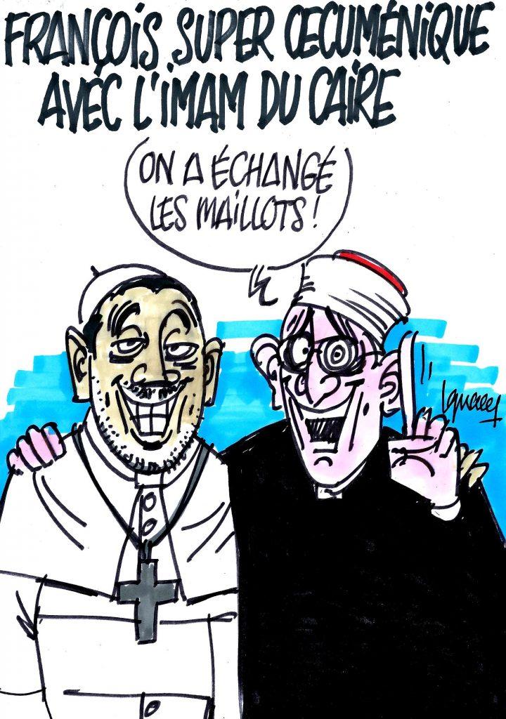 Le pape François super œcuménique