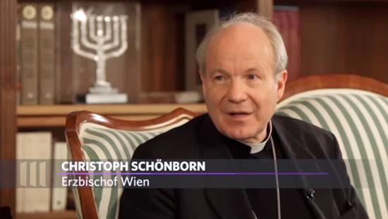 Kardinal-Schoenborn-chandelier-juif