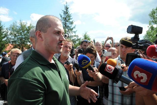 Marian Kotleba, président de « Notre Slovaquie ».