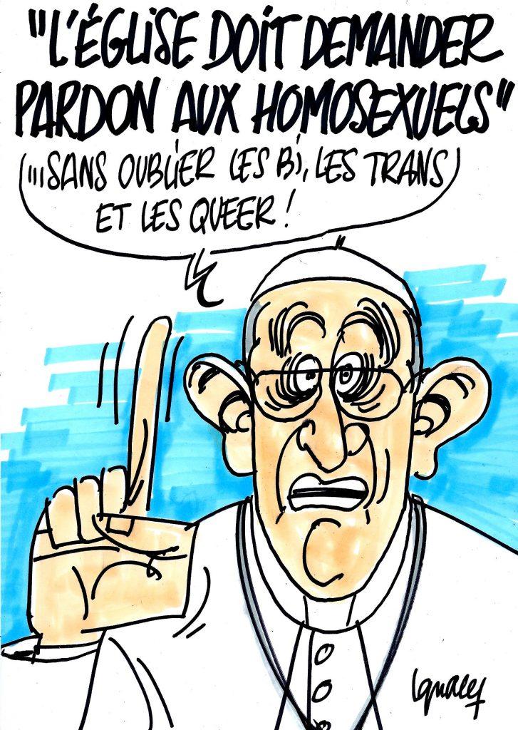 """Ignace - """"L'Église doit demander pardon aux homosexuels"""""""