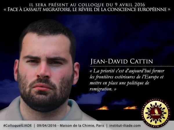 """Jean-David Cattin, directeur des """"Identitaires"""" : """"Le vivre-ensemble n'existe pas!"""""""