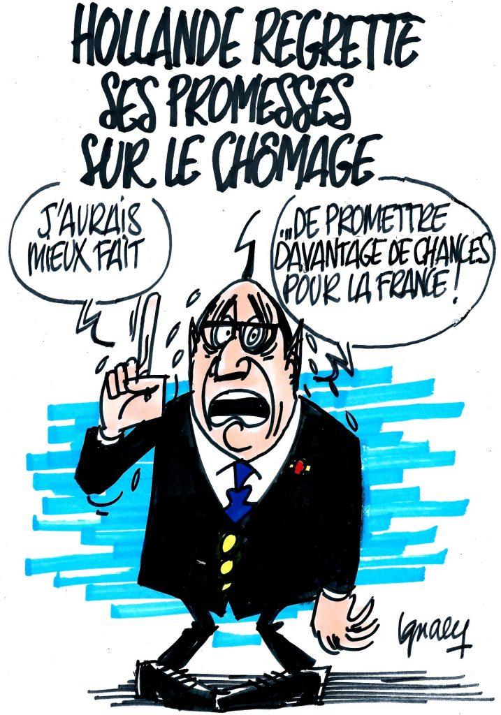 Ignace - Hollande regrette ses promesses sur le chômage