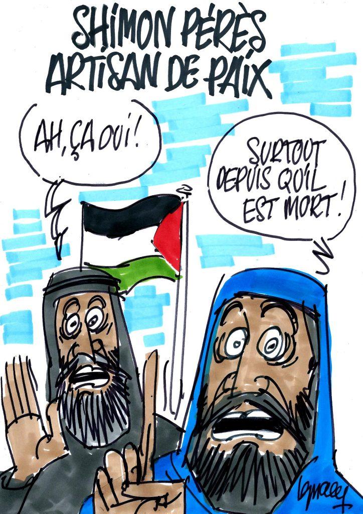 Ignace - Shimon Pérès, artisan de paix