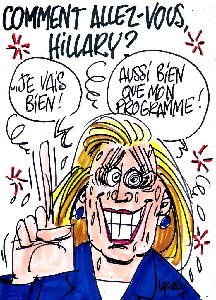 """Ignace - """"Comment allez-vous, Hillary ?"""""""