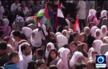 """Explosion de joie à Qudsaya et Hameh libérées tandis que les terroristes """"modérés"""" d'Alep-est exécutent 14 civils."""