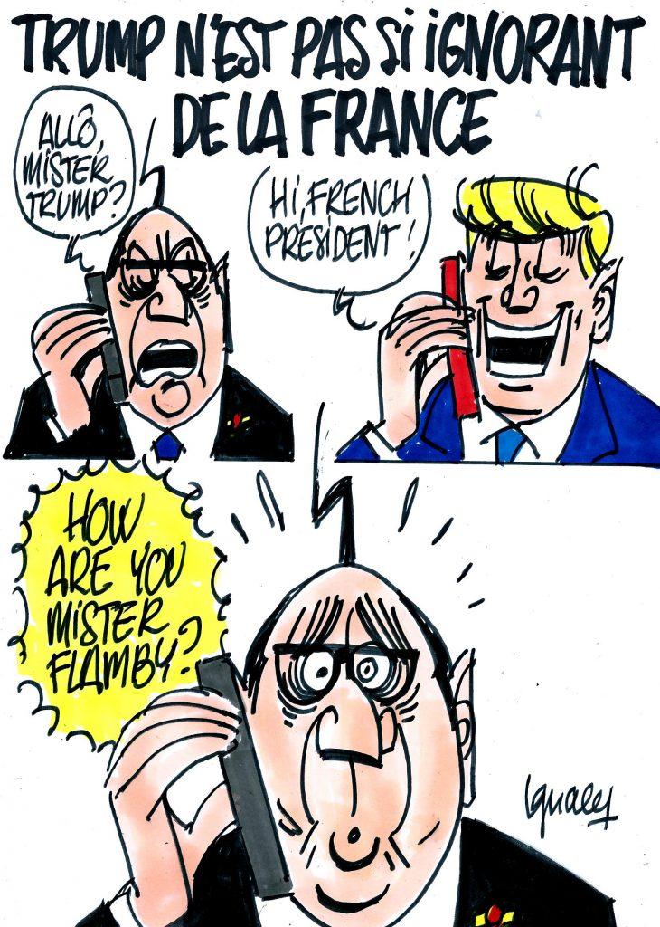 Ignace - Trump pas si ignorant de la France