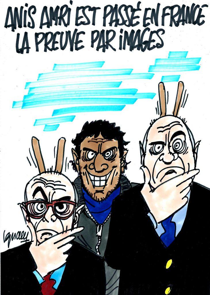 Ignace - Anis Amri passé en France après l'attentat