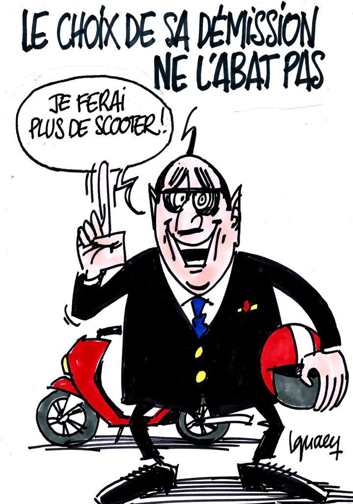 Ignace - Hollande pas abattu
